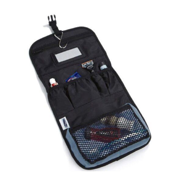 Air Force Blue Wash Bag with Cross Guns Motif
