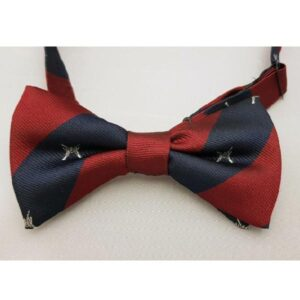 Polyester Bow Tie RAF R Crossed Rifles Regiment