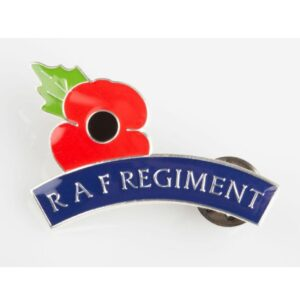 Poppy Mudguard Pin Badge
