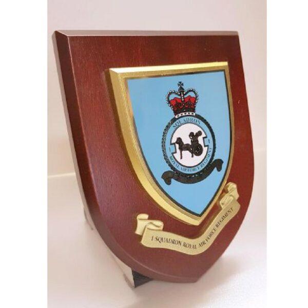 RAF 1 SQUADRON Plaque