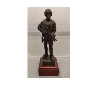 RAF Combat Bronze Figure