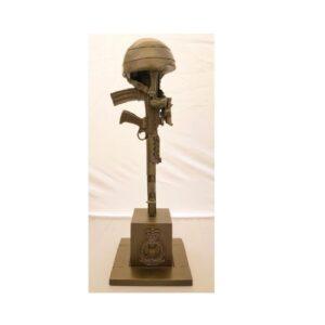 RAF Fallen Gunner Sculpture