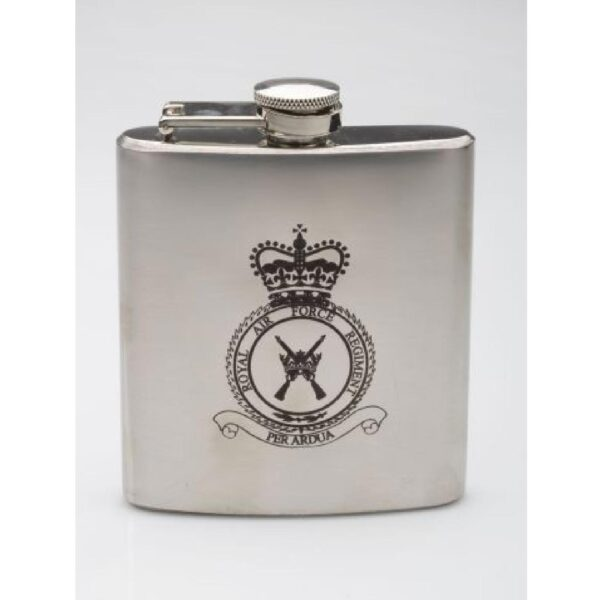 RAF Heritage Stainless Steel Hip Flask-2
