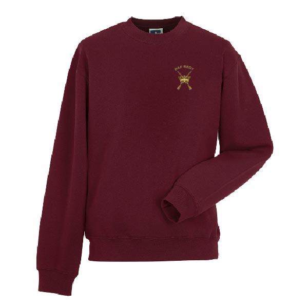 RAF Heritage Sweatshirt Burgundy