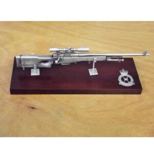 RAF L96 Sniper Rifle Large Scale Weapon Plaque
