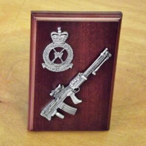 RAF LSW Small Scale Weapon Plaque