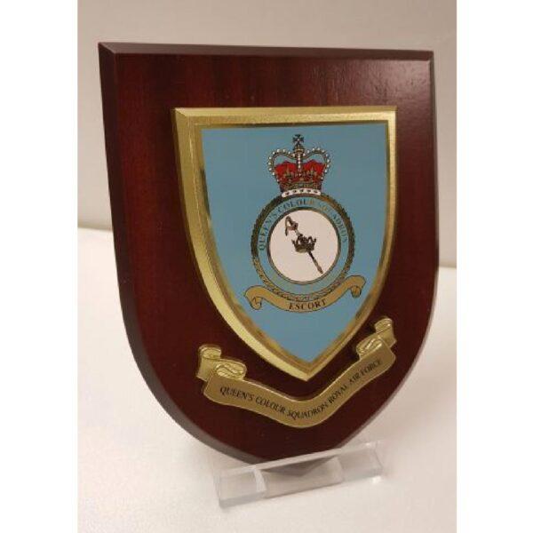 RAF Queens Colour Squadron Plaque