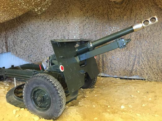 RAF Regiment 25-POUNDER FIELD GUN