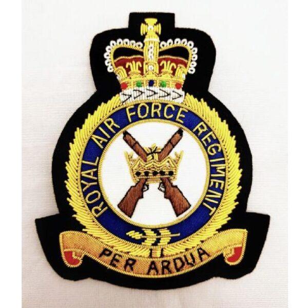 RAF Regiment Blazer Badge