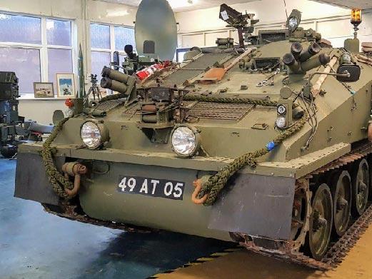 RAF Regiment FV106 SAMSON