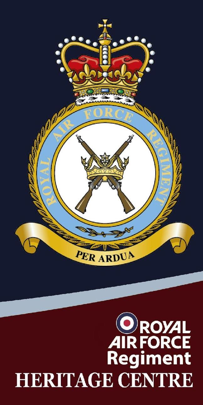 RAF Regiment Heritage Per Ardua
