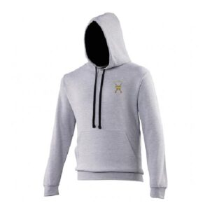 RAF Regiment Hoodie Heather Grey French Navy