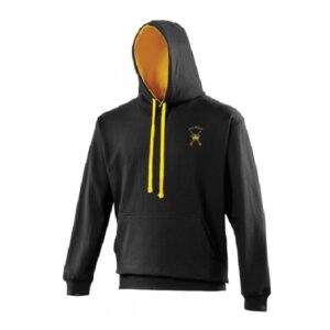 RAF Regiment Hoodie Jet Black Gold