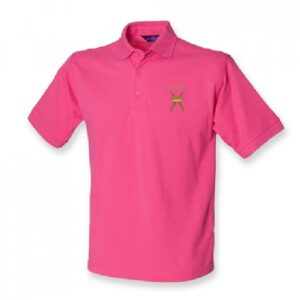 RAF Regiment Polo Shirt Fuschia