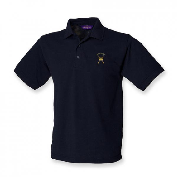 RAF Regiment Polo Shirt Navy