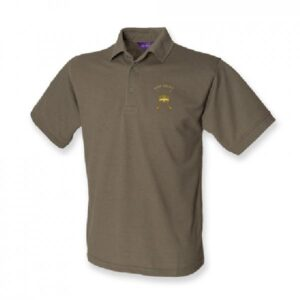 RAF Regiment Polo Shirt Olive Green