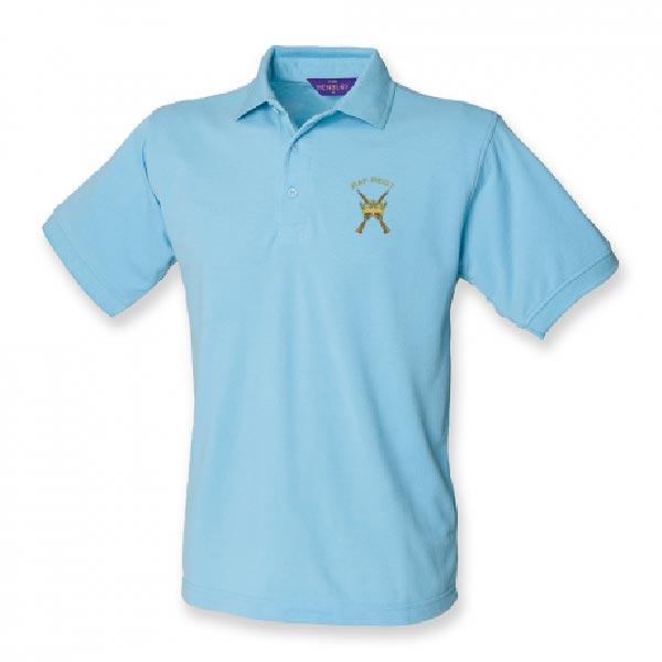 RAF Regiment Polo Shirt Sky Blue
