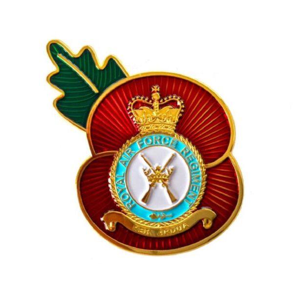 RAF Regiment Remembrance Day Enamel Lapel Badge