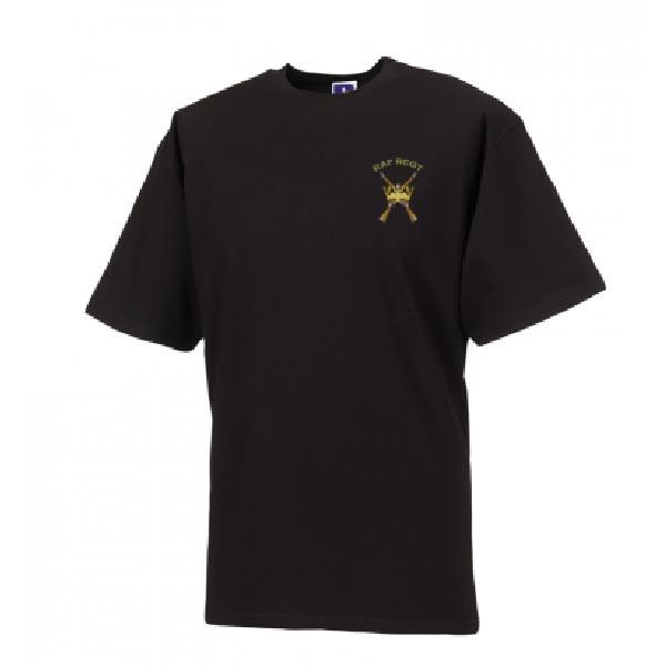 RAF Regiment T-Shirt Black