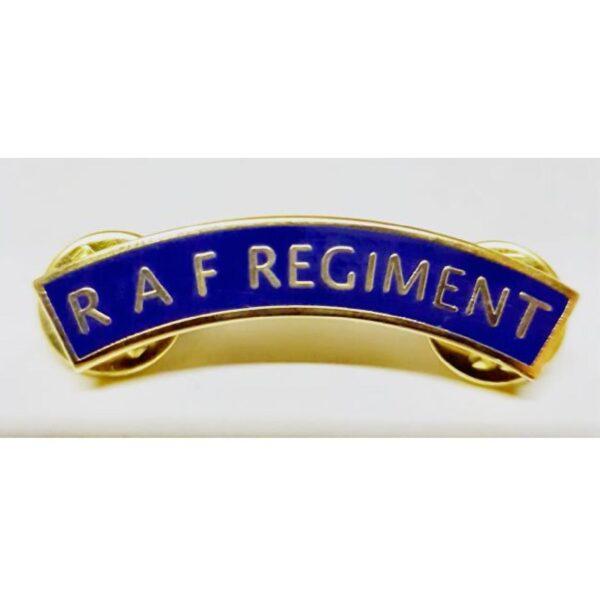 RAF Regiment lapel Badge RAF Regt Mudguard