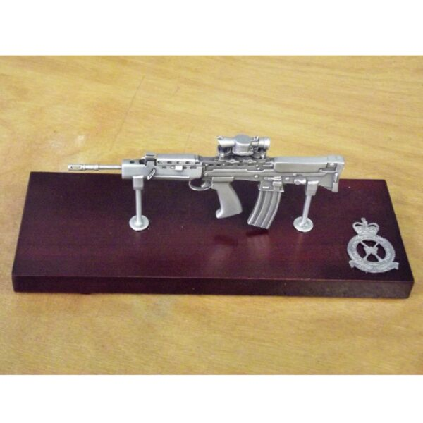 RAF SA80 Large Scale Weapon Plaque