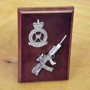 RAF SA80 Small Scale Weapon Plaque
