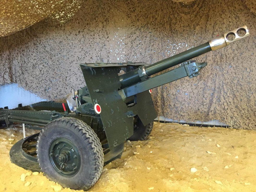 25-POUNDER FIELD GUN