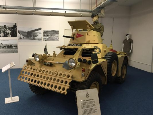 FERRET MARK II SCOUT CAR