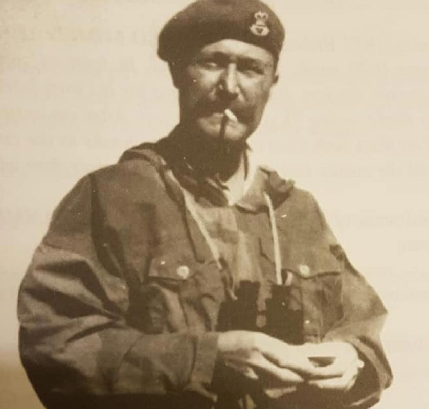 FLIGHT LIEUTENANT LEONARD GEORGE CALVERT MC