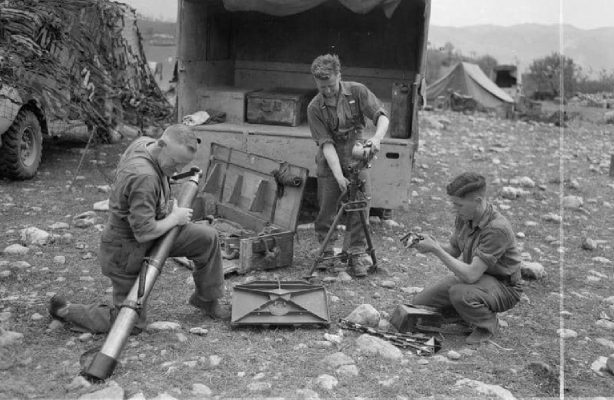 THE BATTLE OF MONTE CASSINO RAF Regiment gunners