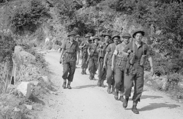 THE BATTLE OF MONTE CASSINO mortar party