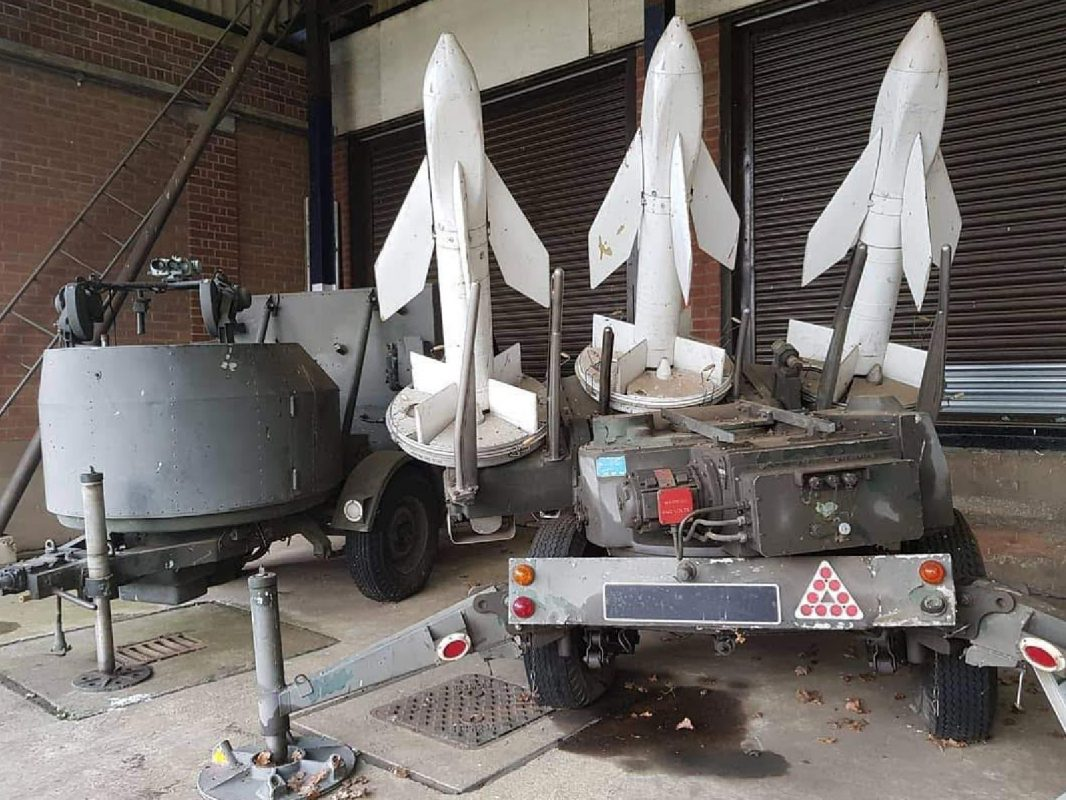 TIGERCAT SHORT RANGE ANTI-AIRCRAFT MISSILE